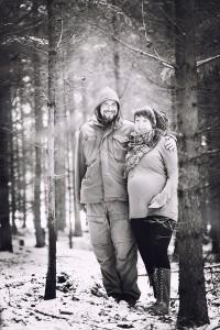 Těhotenské focení Třebíč
