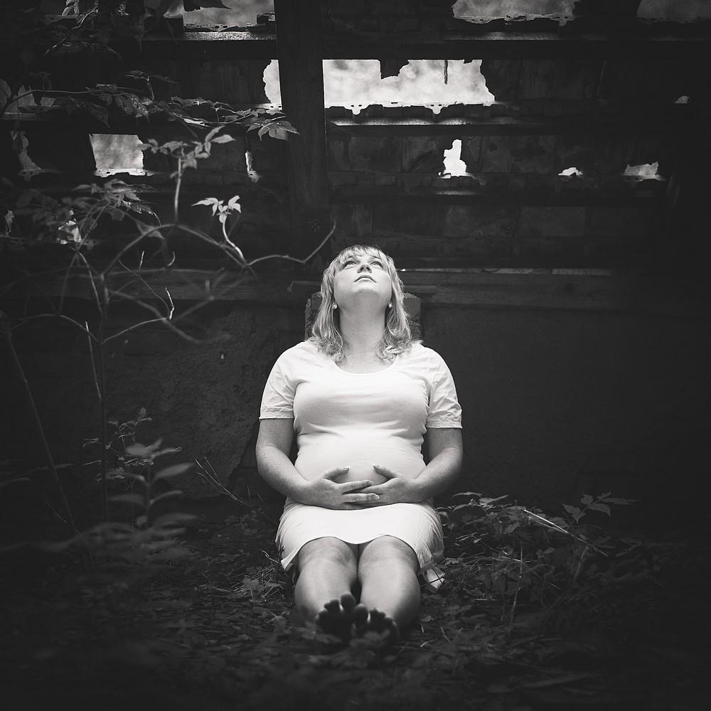 těhotenské foto třebíč